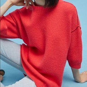 Moth Anthropologie Soft Knit Oversized Sweater XL